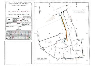 Terrain Barbatre lot 2